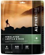 Himalayan Lentils & Rice - Alpine Aire