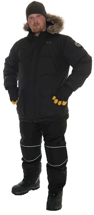 PKG -40F - EXTREME COLD: Premium Parka/Snowpants/Boots 32F to -40F & Beyond(3 pieces)  _Gloves can be added extra