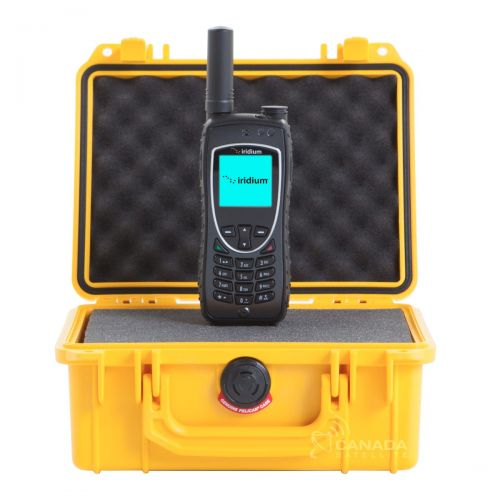 Sat Phone 9555 W/Case & Extra Battery