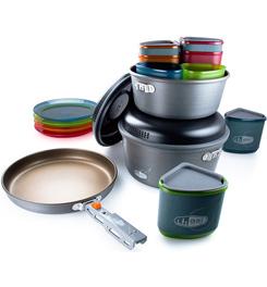 Pot - GSI Outdoors Pinnacle Cookset (4 Person Backpacker)