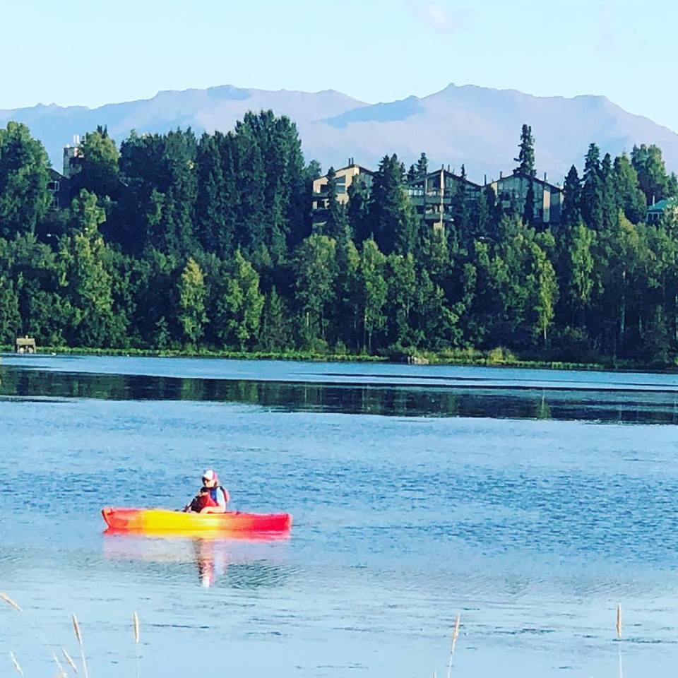 Weschester Paddling (3HR) - Downtown ANC (1 pm-4 pm) SESSION - SINGLE Kayak
