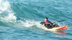 Kayak Surfing Experience