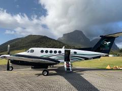 King Air B200  Charter Flight