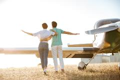 A ROMANCE DELUXE FLIGHT & SCENIC TOUR FOR 2