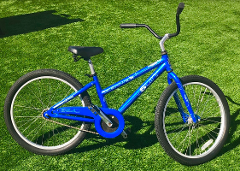 "(1l) Boys Youth Cruiser - 24"" Blue"