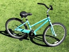 (1b) Ladies Seafoam Cruiser - 26""