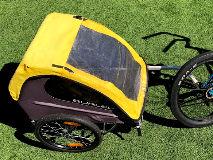 (1v) Burley Bike Trailer (2 passengers) (Bring Your Own Bike)