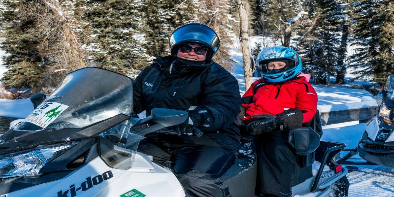 TT - Winter - Greys River Full Day Snowmobile Tour