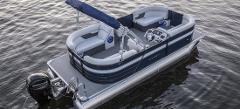 ZC - 24' Crest Pontoon Boat 200-hp