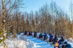 TT - Winter - Short Day Snowmobile Half Day Tour