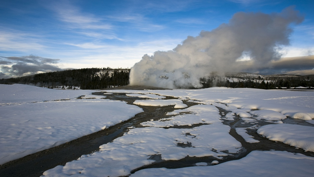 SS - Winter - Old Faithful Snowmobile Tour - PRIVATE