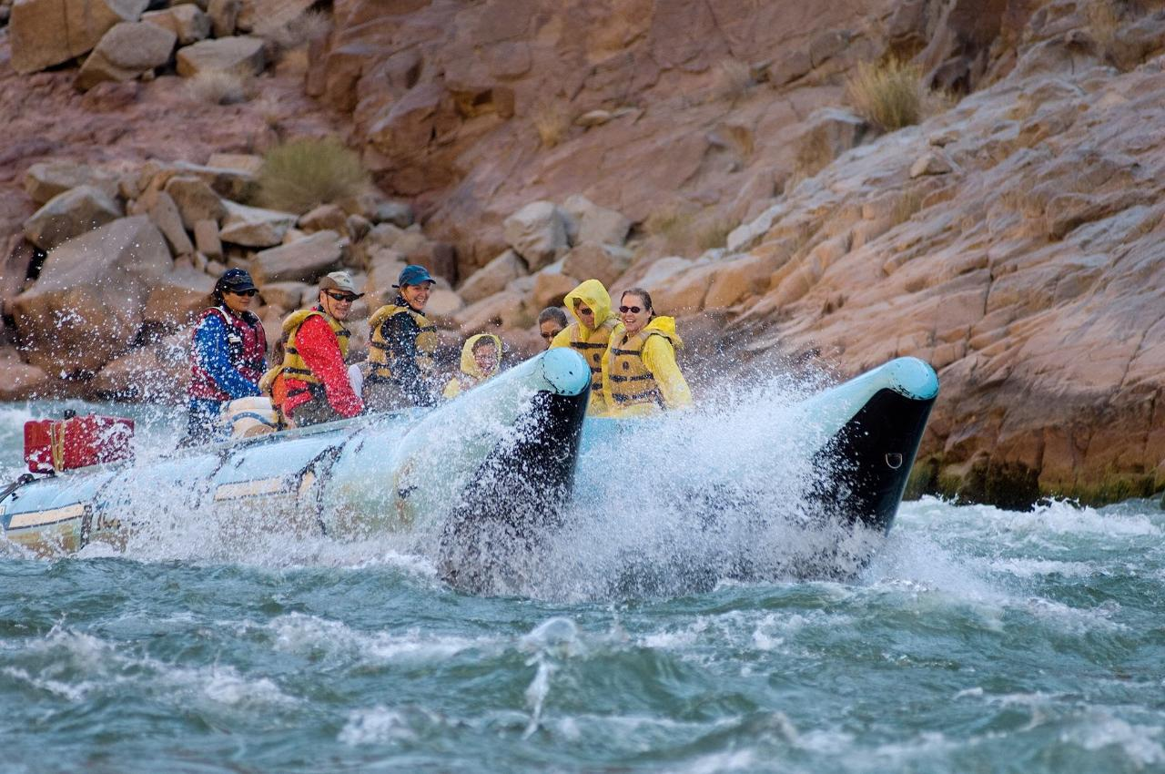 Scenic Air & One Day White Water Tour  (seasonal March 15 - October 31) from SEZ