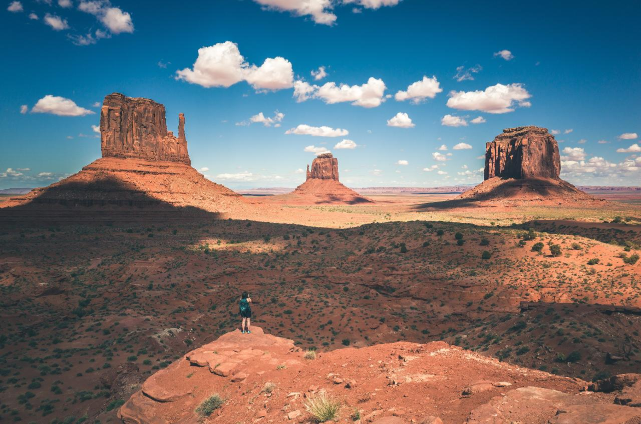 Page to Monument Valley and Grand Canyon and return - Air Only