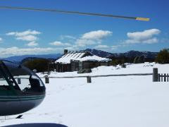 Snow Helicopter Charter Up to 3 People - Mount Hotham