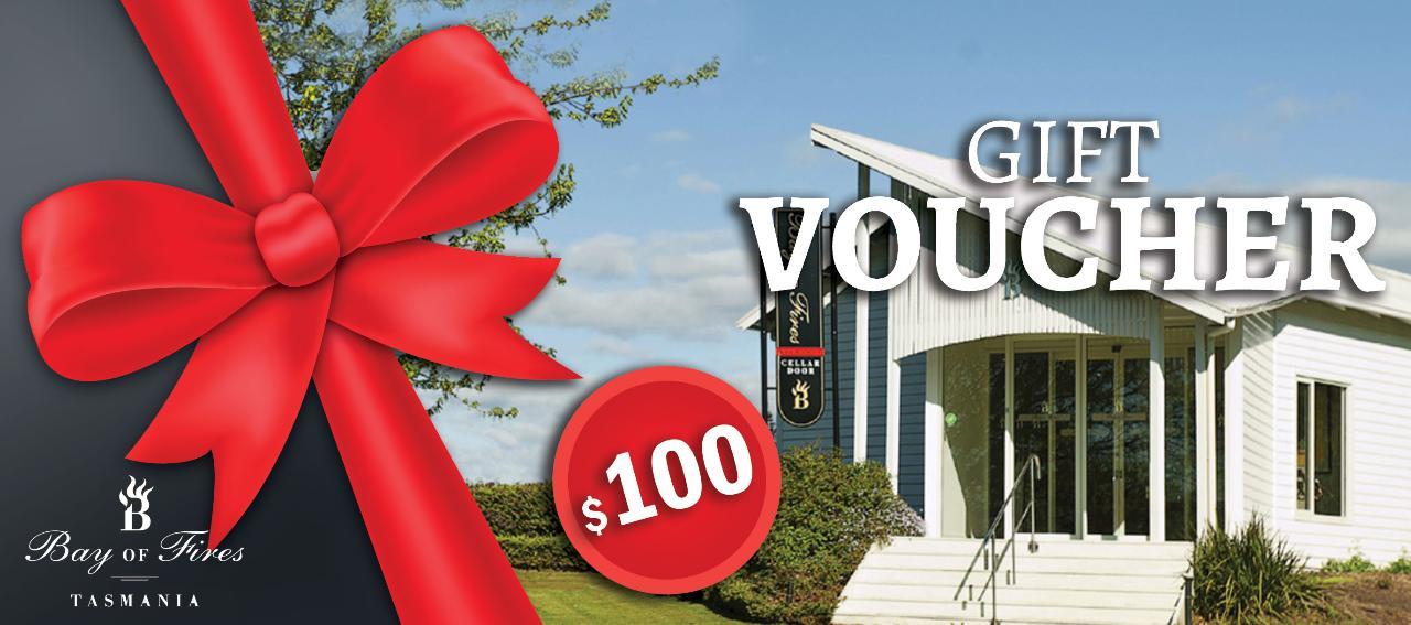 Bay of Fires $100 Gift Voucher