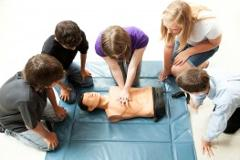 Provide Cardiopulminary Resuscitation (CPR)