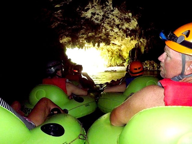 Cave Tubing  Adventure Tour At Nohoch Che'en