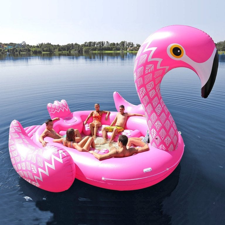 Flamingo Party Island 6-Person