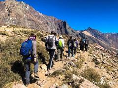 Andes Day Volcano / Snow Hike
