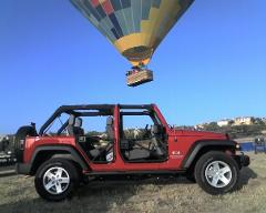 Weekday Balloon and Jeep