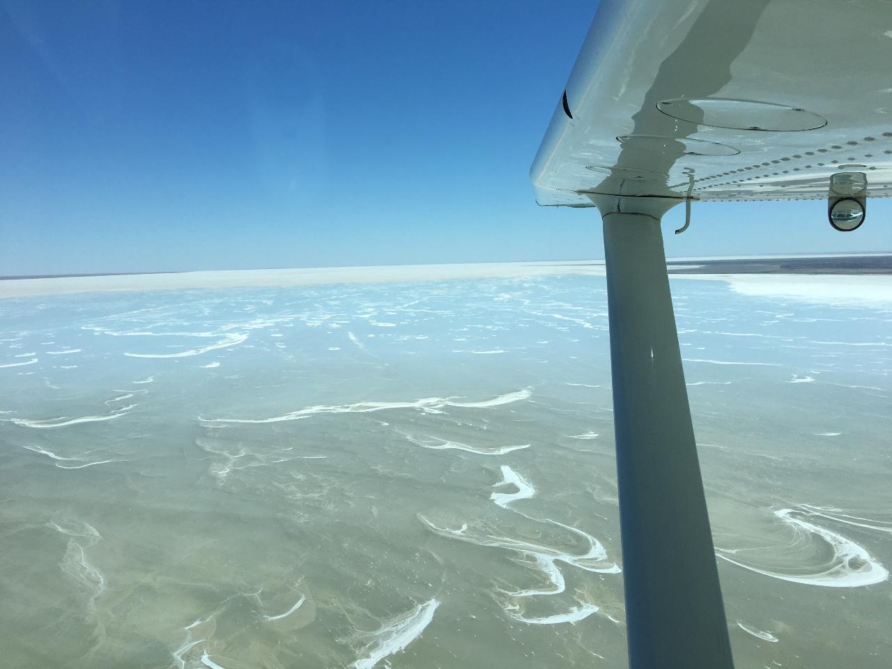 Lake Eyre Flight