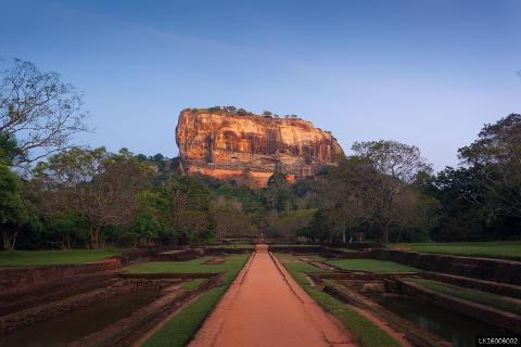 Sigiriya Rock and Minneriya National Park  from Negombo
