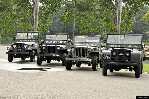 Colombo City by World War Jeep from Colombo Port