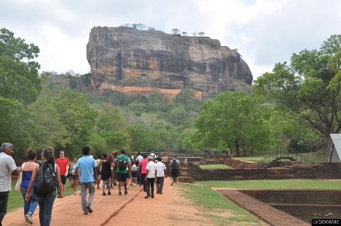 Sigiriya Lion Rock and Dambulla Cave Temple from Colombo