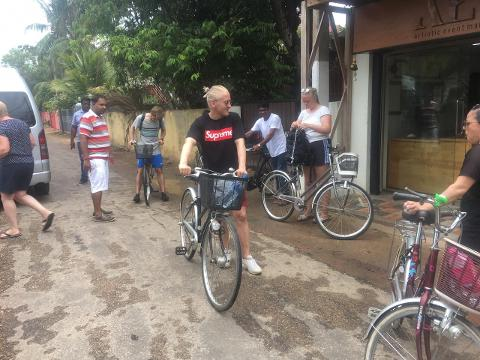 Jaffna City Cycling Tour