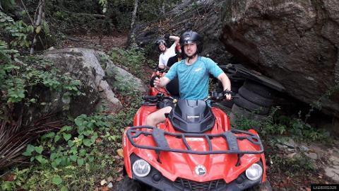 Elephant Rock and Panoramic Rock Lookout ATV Tour