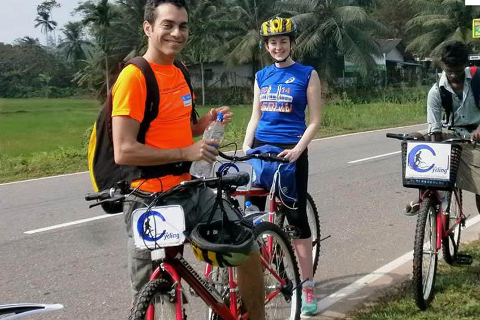 Sports Cycling in Galle Countryside