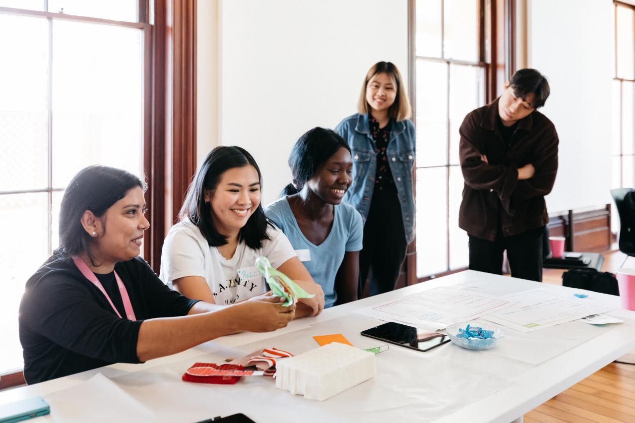 Dare for Change: design thinking workshop