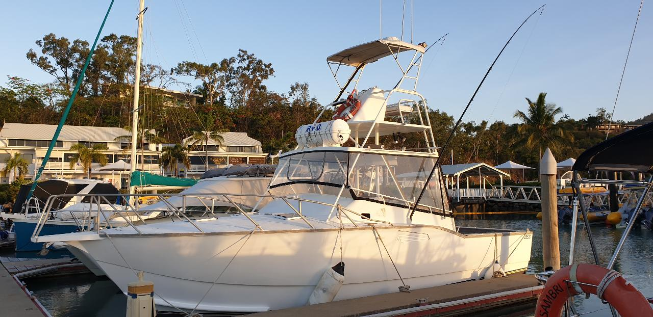 Private Boat - Morning Charter Whitsunday Islands - 4.5Hrs