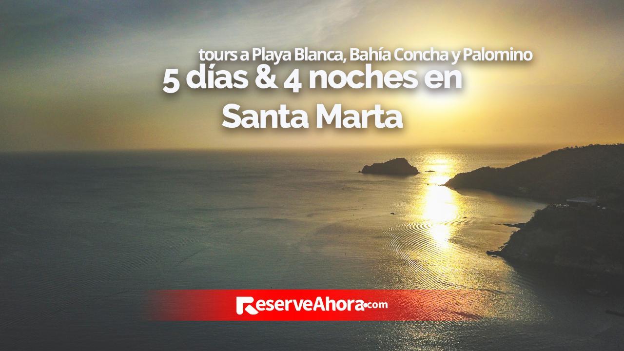 Paquete 5 días & 4 noches en Hotel Portobahía y Hotel Mendihuaca