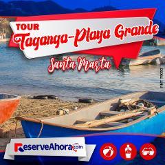 Tour a Taganga y Playa Grande
