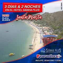 BASICO 3 días & 2 noches en Hotel Sánha Plus - Tour Playa Blanca - Traslados