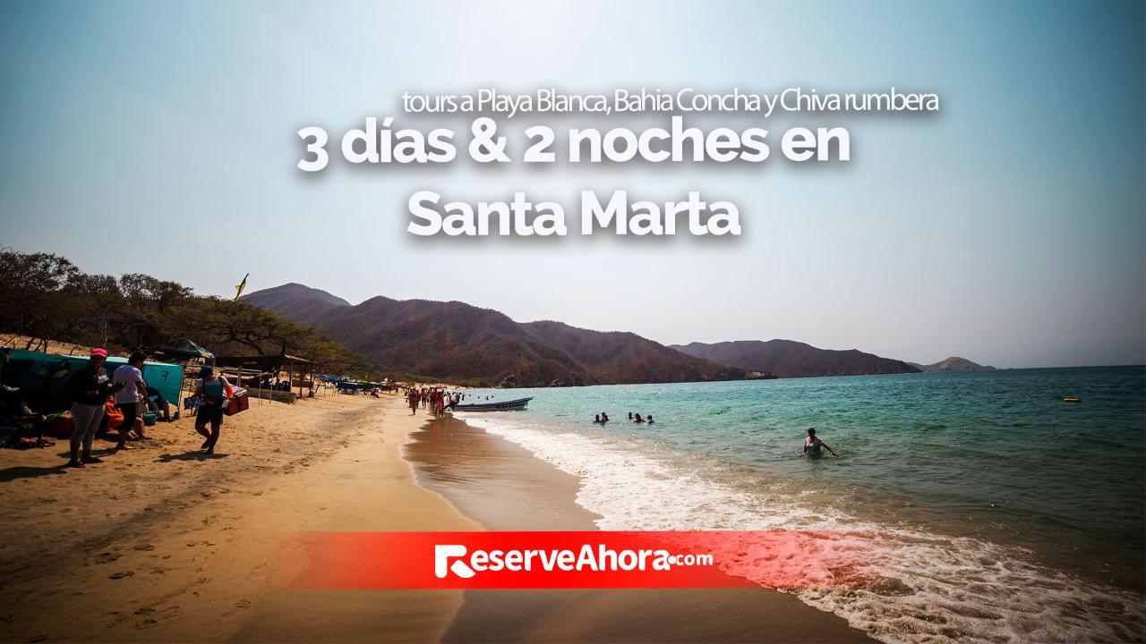 Paquete 3 días & 2 noches, Hotel Portobahía, Paseos a Playa Blanca, Bahia Concha y Chiva rumbera