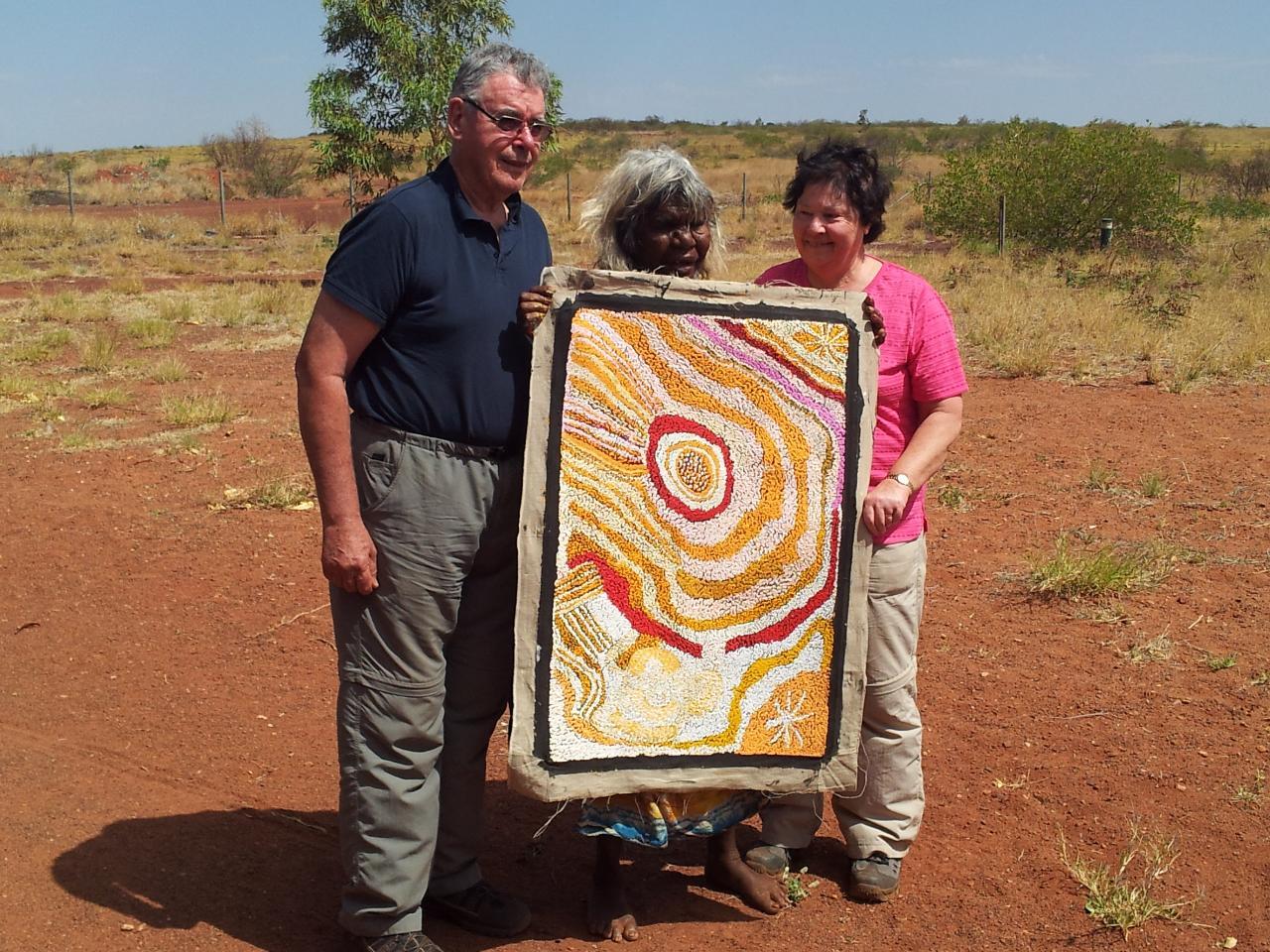 Aboriginal Art Centre Tours  – Western Deserts Tour – From Alice Springs to Uluru 7 days