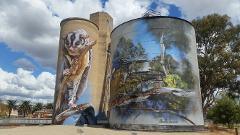 Silo Art Trail Tour NSW Victoria South Australia Sydney Adelaide 5 Days