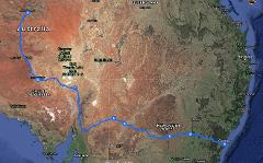 Lake Eyre from Sydney to Alice Springs via Broken Hill Coober Pedy and NSW Outback 5 days