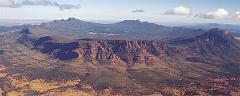 Lake Eyre Tours Flights with William Creek and Wilpena Pound Walks 4 Days