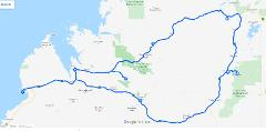 Kimberley Broome to Broome via Gibb River Road Bungles El Questro Manning Gorge Tour 7 days