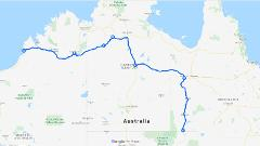 Birdsville to Broome via Mt Isa Top Springs Wave Hill Halls Creek tour 6 days