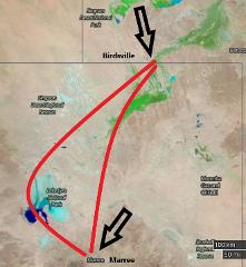 Lake Eyre and Birdsville Flight and Tour from Adelaide 3 days
