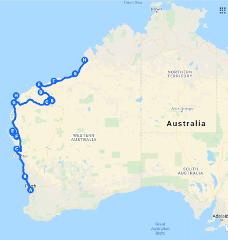 Broome to Perth via Kalbarri Karijini Ningaloo Monkey Mia Tour 10 day Tour via West Coast of Western Australia