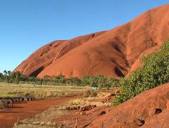 Alice Springs to Uluru via Kings Canyon Mereenie Hermannsburg MacDonnell Ranges Palm Valley Tour 5 Days
