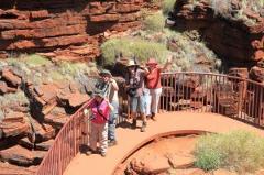 Perth to Broome via Kalbari Karijini Ningaloo Monkey Mia Tour 10 day Tour via West Coast of Western Australia.