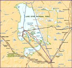Lake Eyre Tours and Flight from Broken Hill to Broken Hill 3 days