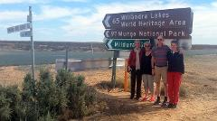 Mungo National Park Darling River Run Broken Hill Sydney to Sydney 6 days