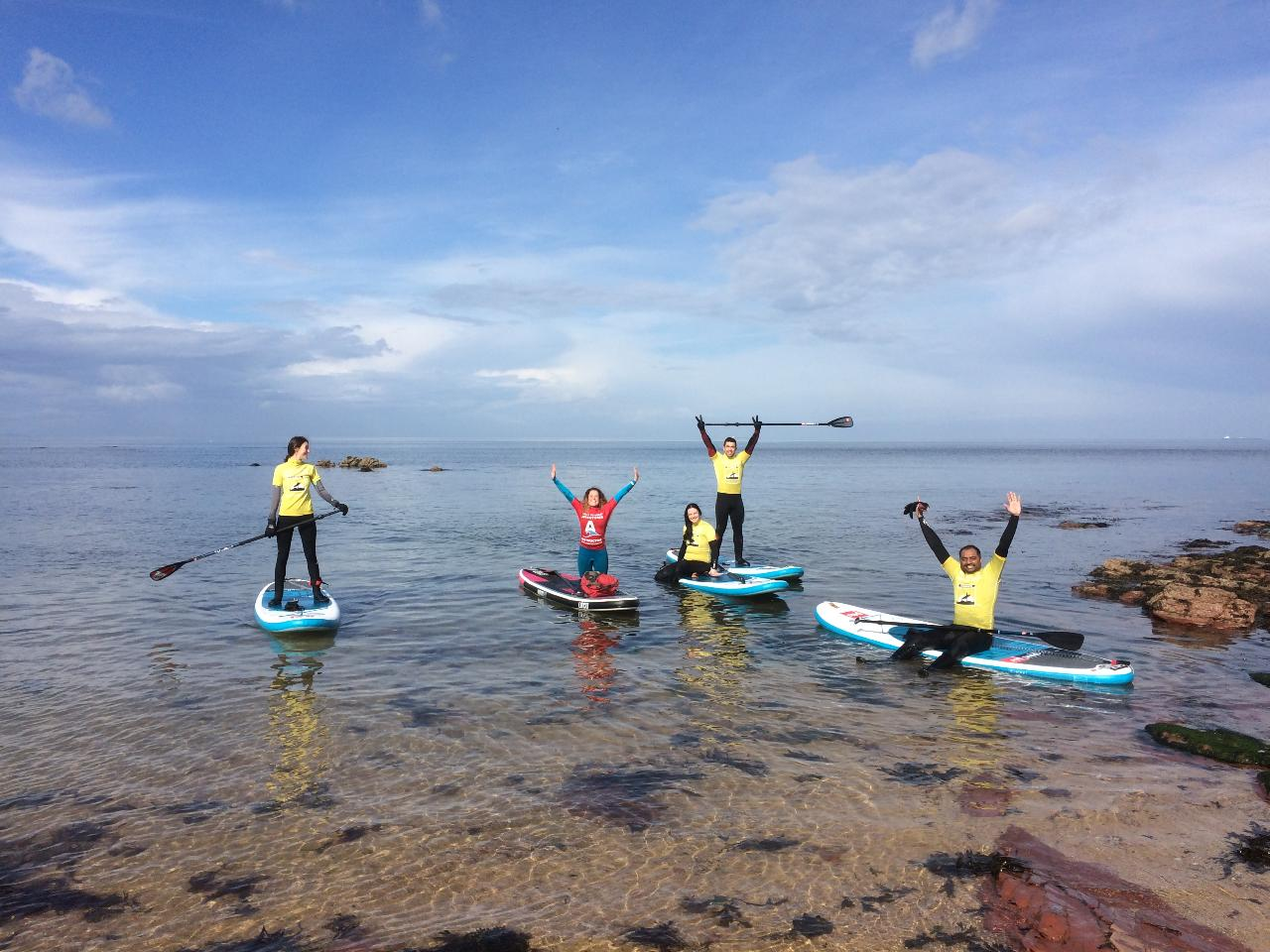 STAND UP PADDLE BEGINNER LESSON